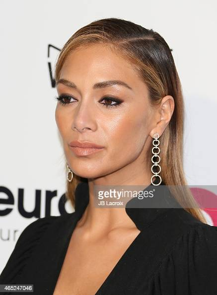 Nicole Scherzinger attends the 23rd Annual Elton John AIDS Foundation Academy Awards Viewing Party on February 22 2015 in West Hollywood California