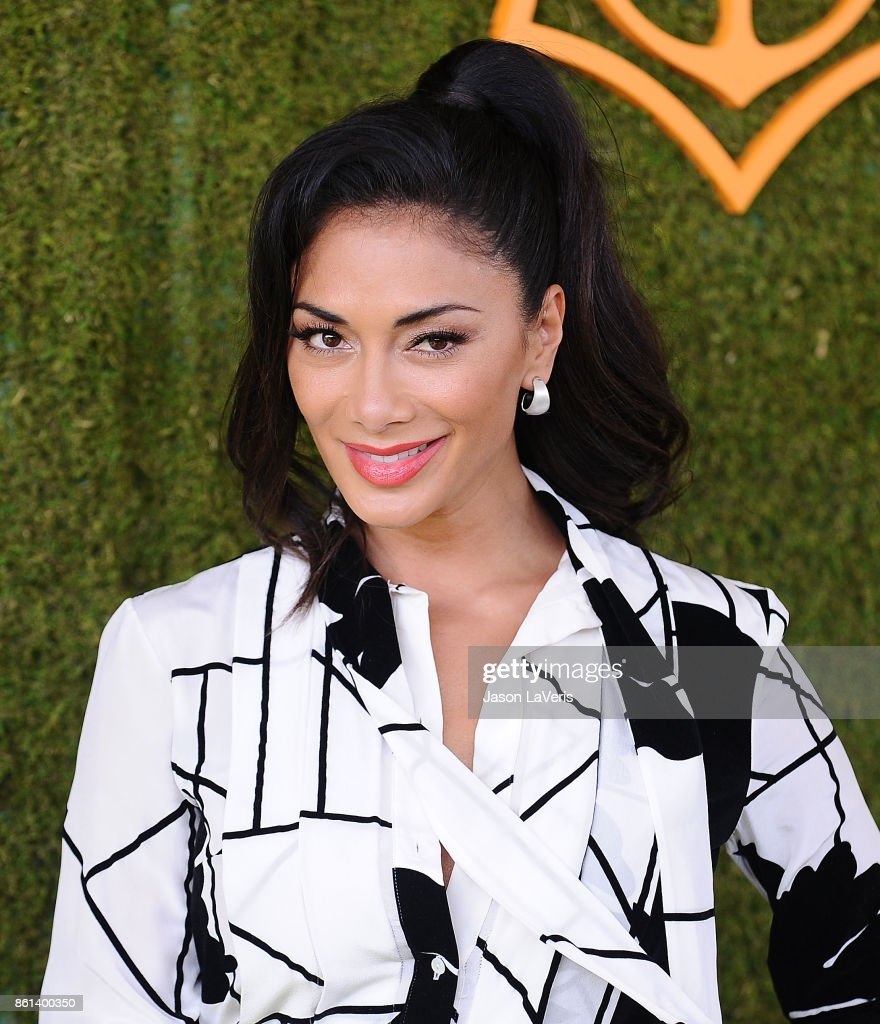 Nicole Scherzinger attends the 8th annual Veuve Clicquot Polo Classic at Will Rogers State Historic Park on October 14, 2017 in Pacific Palisades, California.