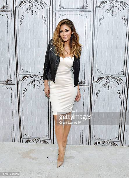 Nicole Scherzinger attends the AOL BUILD Speaker Series Presents NBC's 'I Can Do That' at AOL Studios In New York on July 1 2015 in New York City