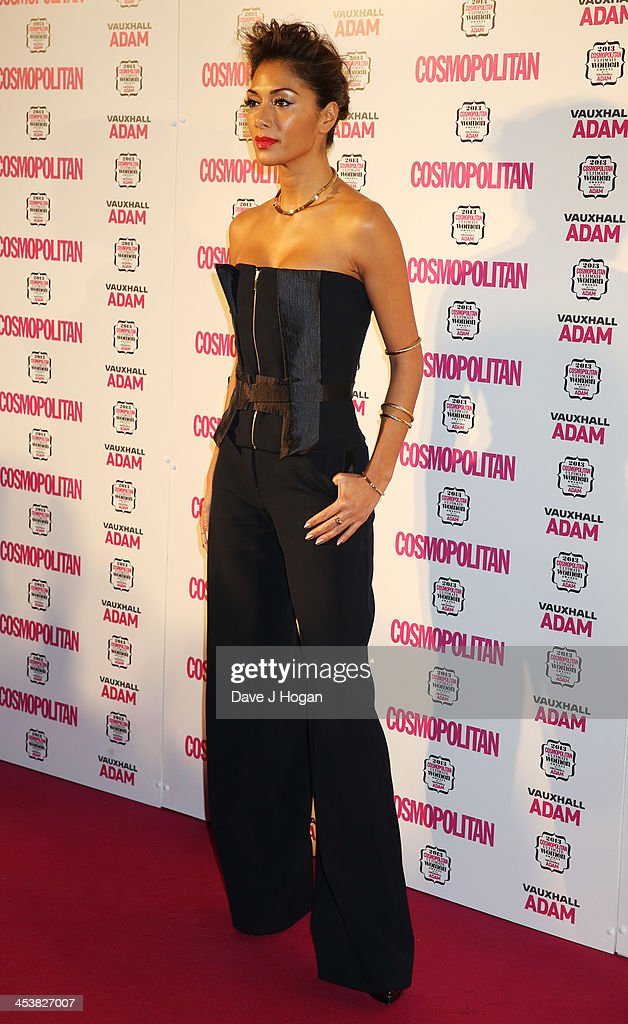 <a gi-track='captionPersonalityLinkClicked' href=/galleries/search?phrase=Nicole+Scherzinger&family=editorial&specificpeople=678971 ng-click='$event.stopPropagation()'>Nicole Scherzinger</a> attends the Cosmopolitan Ultimate Women Of The Year Awards 2013 at The Victoria and Albert Museum on December 5, 2013 in London, England.