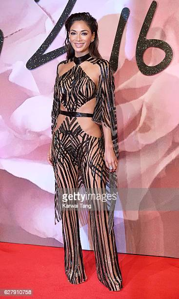 Nicole Scherzinger attends The Fashion Awards 2016 at the Royal Albert Hall on December 5 2016 in London United Kingdom