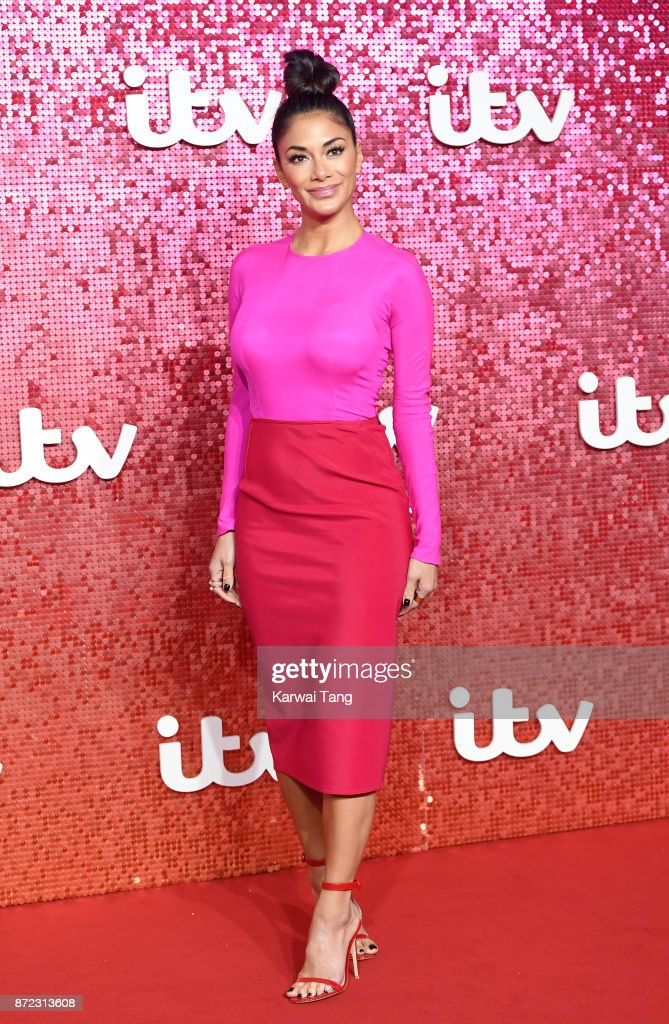 Nicole Scherzinger attends the ITV Gala at the London Palladium on November 9, 2017 in London, England.