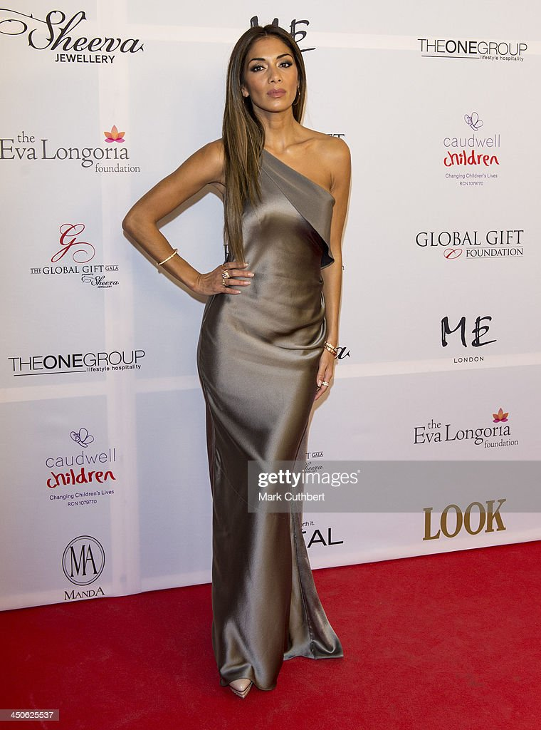 <a gi-track='captionPersonalityLinkClicked' href=/galleries/search?phrase=Nicole+Scherzinger&family=editorial&specificpeople=678971 ng-click='$event.stopPropagation()'>Nicole Scherzinger</a> attends the London Global Gift Gala at ME Hotel on November 19, 2013 in London, England.