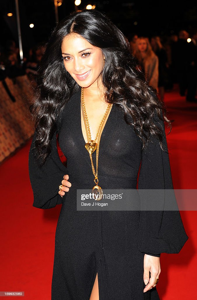 Nicole Scherzinger attends the National Television Awards 2013 at The O2 Arena on January 23, 2013 in London, England.