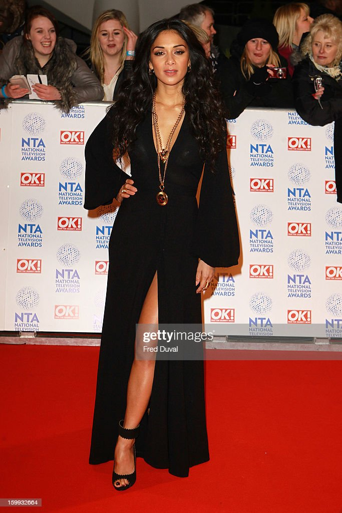 <a gi-track='captionPersonalityLinkClicked' href=/galleries/search?phrase=Nicole+Scherzinger&family=editorial&specificpeople=678971 ng-click='$event.stopPropagation()'>Nicole Scherzinger</a> attends the National Television Awards at 02 Arena on January 23, 2013 in London, England.