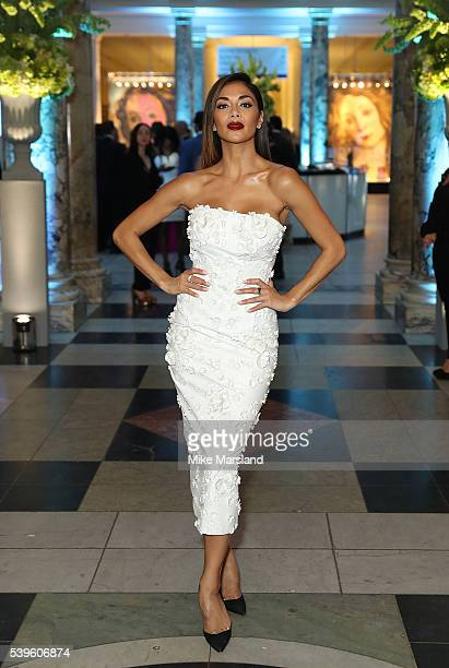 Nicole Scherzinger attends the One For The Boys Fashion Ball at The VA on June 12 2016 in London England