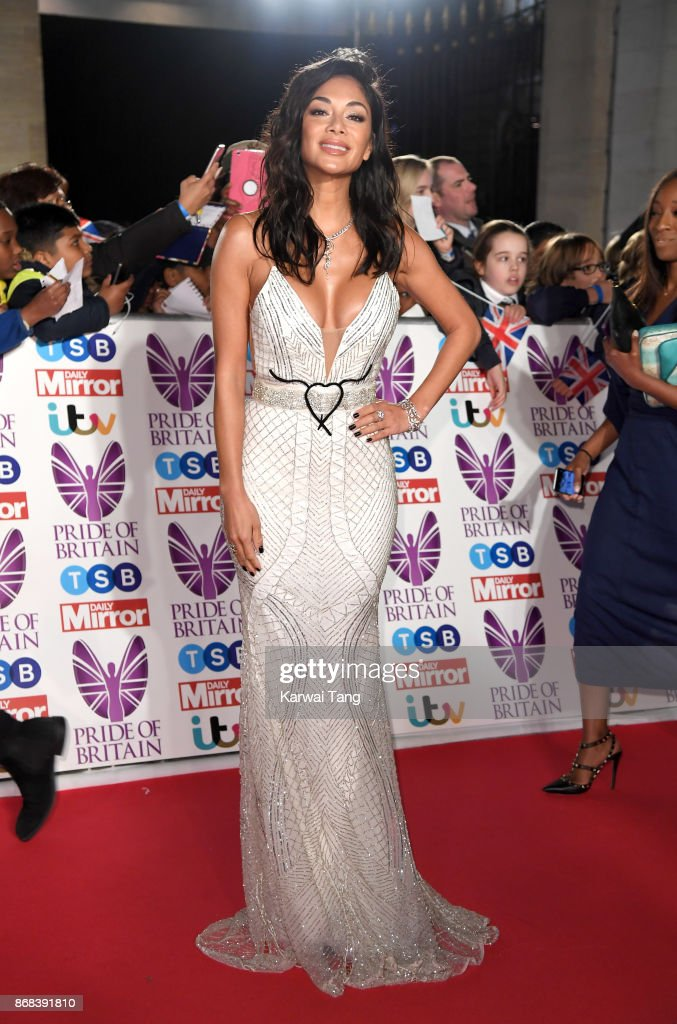 Nicole Scherzinger attends the Pride Of Britain Awards at the Grosvenor House on October 30, 2017 in London, England.