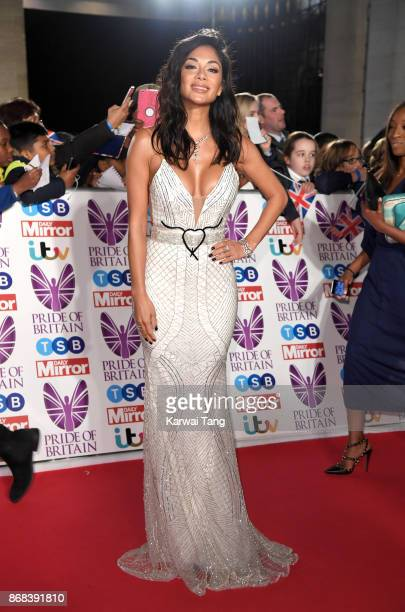 Nicole Scherzinger attends the Pride Of Britain Awards at the Grosvenor House on October 30 2017 in London England