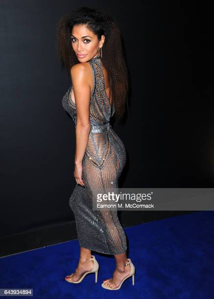 ONLY Nicole Scherzinger attends the Universal Music Party for The BRIT Awards 2017 at The O2 Arena on February 22 2017 in London England