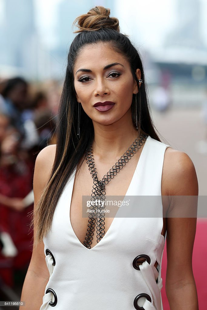 Nicole Scherzinger attends the X Factor Auditions on June 19, 2016 in London, England.