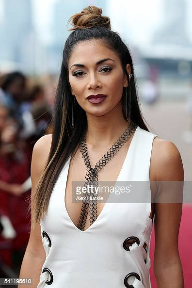 Nicole Scherzinger attends the X Factor Auditions on June 19 2016 in London England