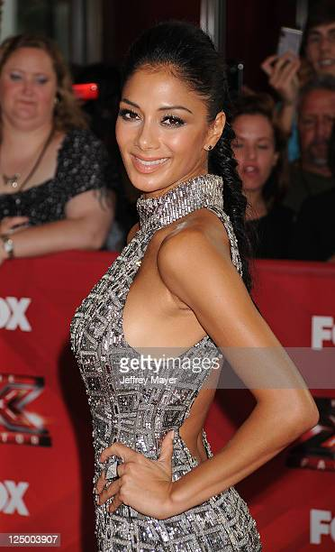 Nicole Scherzinger attends 'The X Factor' World Premiere Screening at ArcLight Cinemas on September 14 2011 in Hollywood California