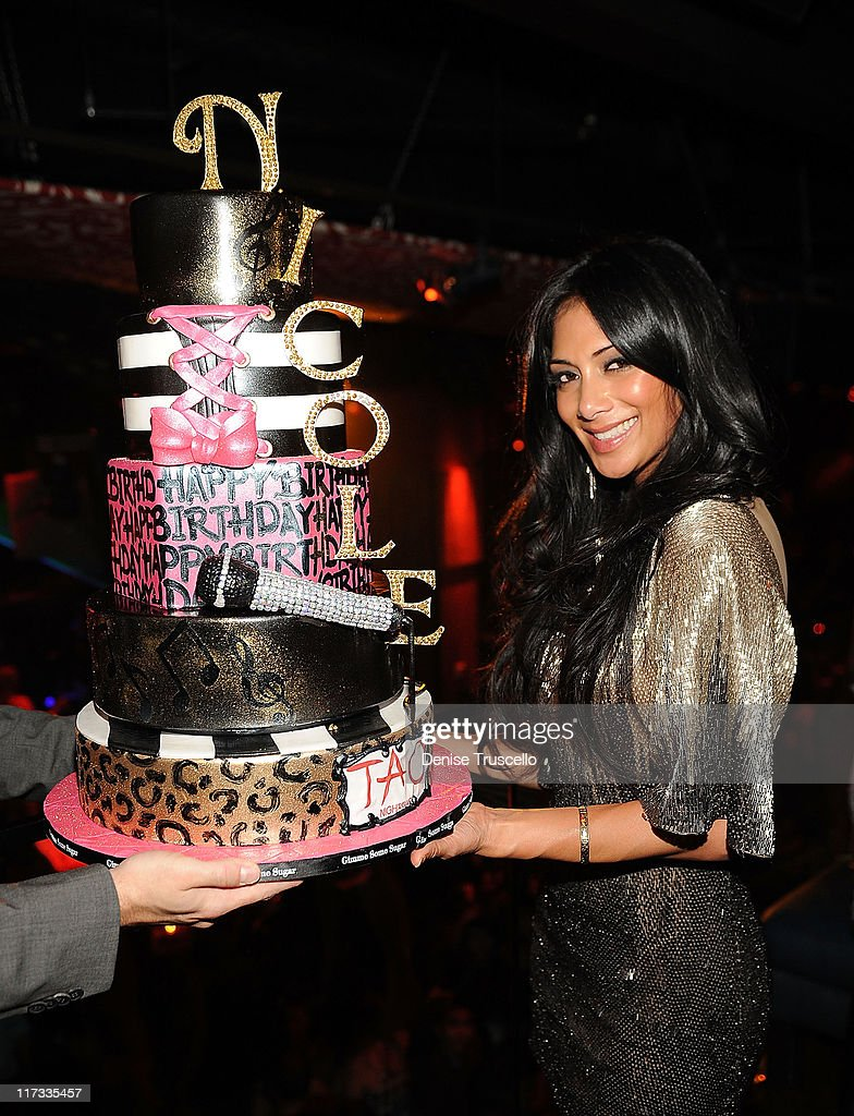 Nicole Scherzinger celebrates her birthday at TAO Nightclub at the Venetian on June 25, 2011 in Las Vegas, Nevada.