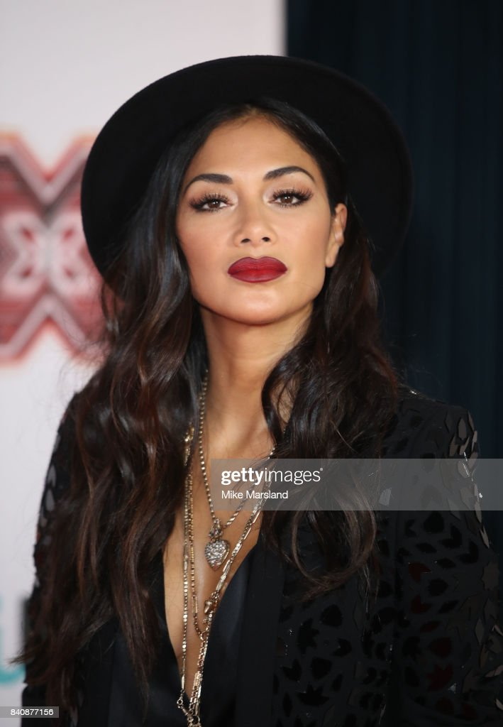 Nicole Scherzinger during The X Factor series 14 red carpet press launch at Picturehouse Central on August 30, 2017 in London, England.