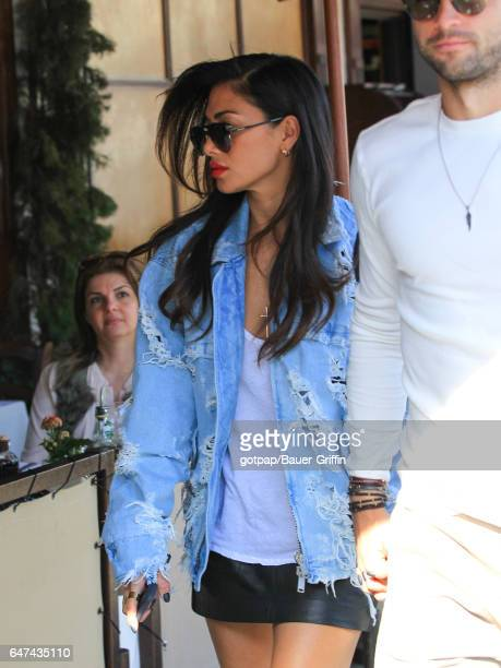 Nicole Scherzinger is seen on March 02 2017 in Los Angeles California