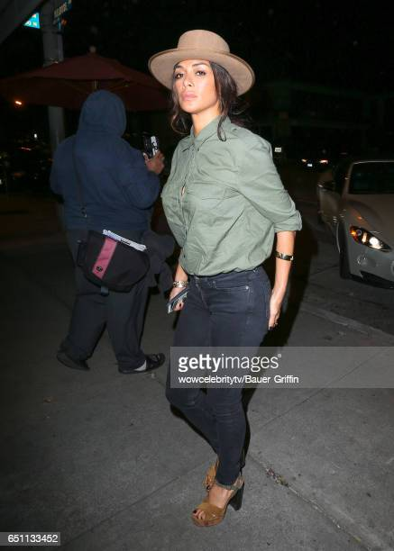 Nicole Scherzinger is seen on March 09 2017 in Los Angeles California