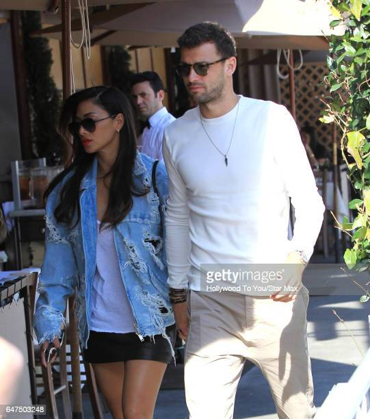 Nicole Scherzinger is seen on March 2 2017 in Los Angeles CA