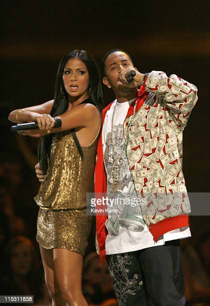 Nicole Scherzinger of The Pussycat Dolls and Ludacris perform 'Money Maker'