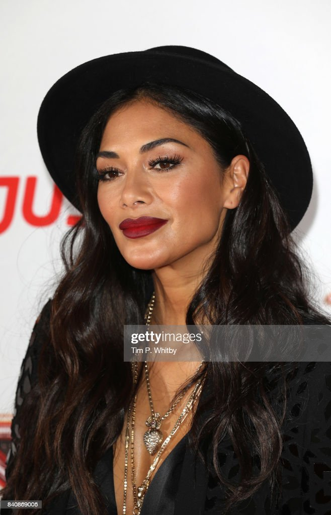 Nicole Scherzinger poses for a photo during The X Factor Series 14 red carpet press launch at Picturehouse Central on August 30, 2017 in London, England.