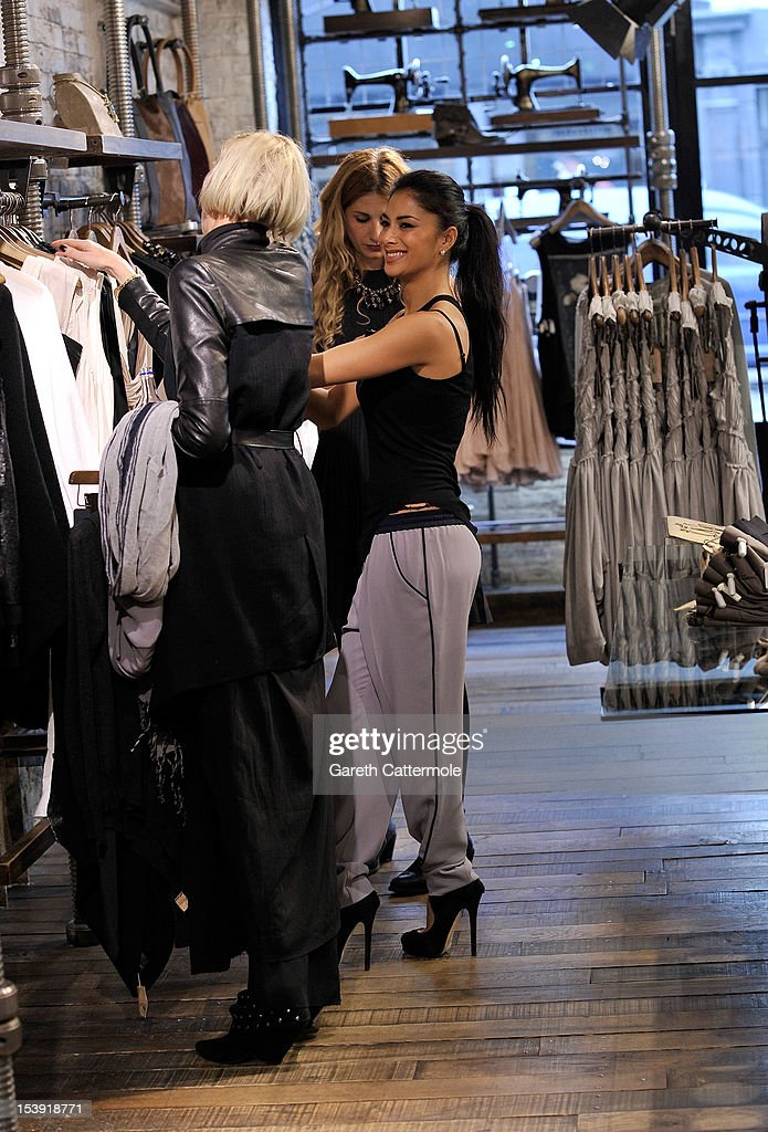 <a gi-track='captionPersonalityLinkClicked' href=/galleries/search?phrase=Nicole+Scherzinger&family=editorial&specificpeople=678971 ng-click='$event.stopPropagation()'>Nicole Scherzinger</a> shops at the All Saints store in Westbourne Park on October 11, 2012 in London, England.