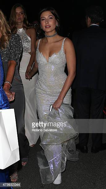 CANNES FRANCE MAY 18 Nicole Scherzinger sighted at the Chopard GOLD party in Cannes 2015 May 18 in Cannes France
