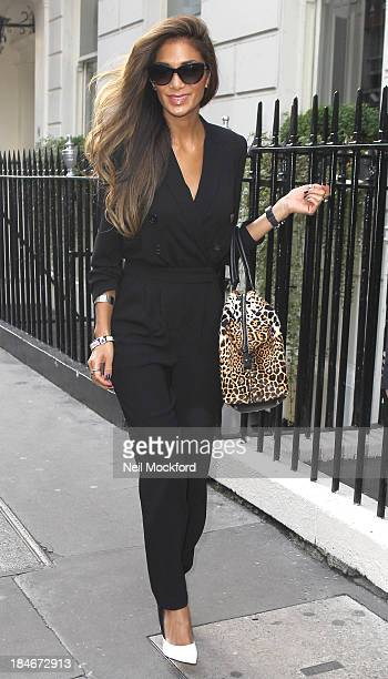 Nicole Scherzinger sighting on October 15 2013 in London England