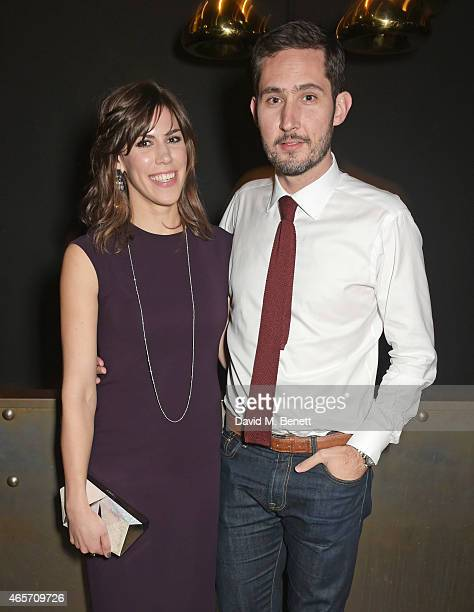 Nicole Schuetz and Kevin Systrom attend a party hosted by Instagram's Kevin Systrom and Jamie Oliver This is their second annual private party taking...