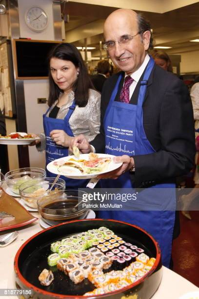 Nicole Seligman and Chancellor Joel Klein attend CANCER RESEARCH INSTITUTE'S 'Through The Kitchen' Party at The Four Seasons on April 25 2010 in New...