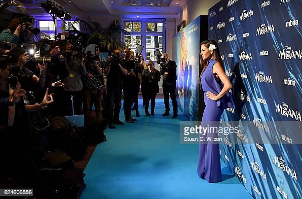 Nicole Sherzinger attends the UK Gala screening of Disney's 'MOANA' at BAFTA on November 20 2016 in London England