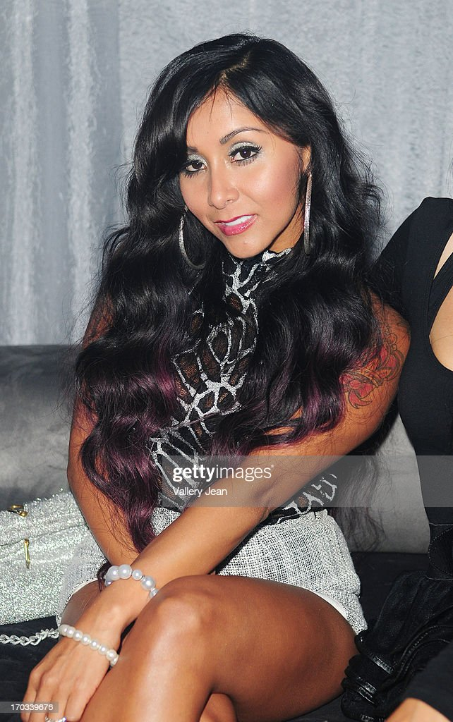 Nicole 'Snooki' Polizzi arrives at Seminole Hard Rock Hotel & Casino - Hard Rock Cafe Hollywood on June 7, 2013 in Hollywood, Florida.