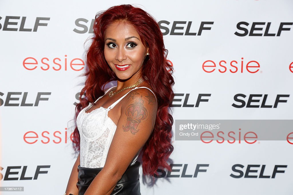 Nicole 'Snooki' Polizzi attends Self Rocks the Summer Event on July 16 2013 in New York City