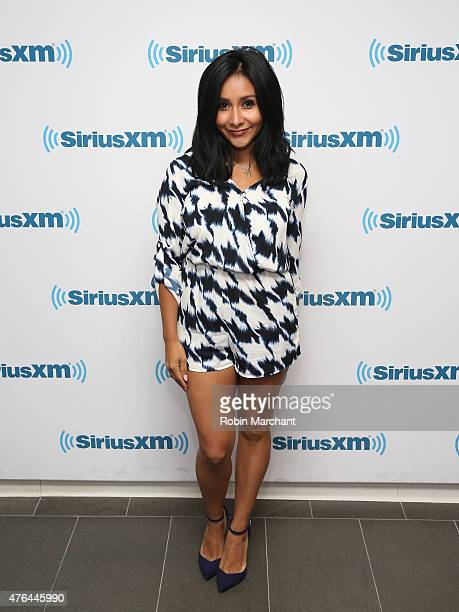 Nicole 'Snooki' Polizzi visits at SiriusXM Studios on June 9 2015 in New York City