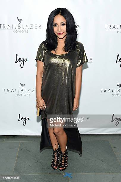 Nicole 'Snookie' Polizzi attends Logo's 'Trailblazer Honors' 2015 at the Cathedral of St John the Divine on June 25 2015 in New York City