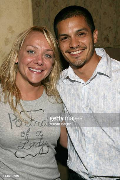 Nicole Sullivan and Nicholas Gonzalez during Full Tilt Bad Beat on Cancer Celebrity Poker Benefit at White Lotus Hollywood in Hollywood California...