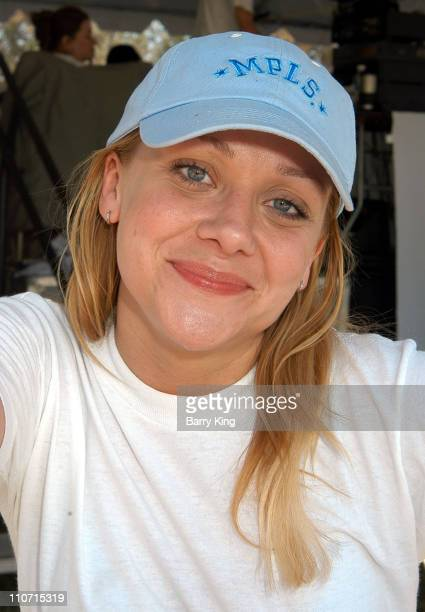 Nicole Sullivan during 3rd Annual Nuts for Mutts Dog Show 2004 at Pierce College in Woodland Hills California United States