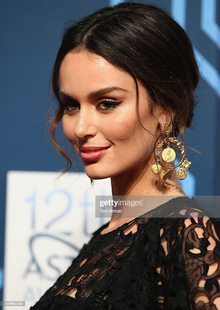 <a gi-track='captionPersonalityLinkClicked' href=/galleries/search?phrase=Nicole+Trunfio&family=editorial&specificpeople=3006654 ng-click='$event.stopPropagation()'>Nicole Trunfio</a> attends the 12th Astra Awards at Carriageworks on March 20, 2014 in Sydney, Australia.