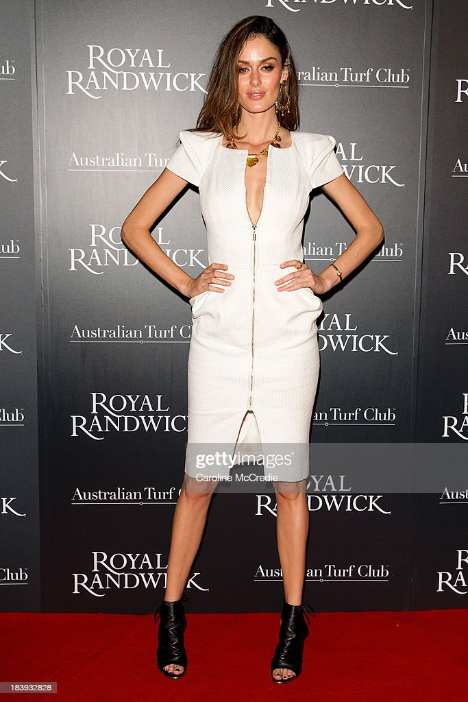 <a gi-track='captionPersonalityLinkClicked' href=/galleries/search?phrase=Nicole+Trunfio&family=editorial&specificpeople=3006654 ng-click='$event.stopPropagation()'>Nicole Trunfio</a> attends the Gala Launch event to celebrate the new Australian Turf on October 10, 2013 in Sydney, Australia.