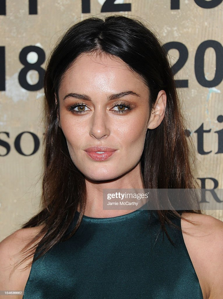 Nicole Trunfio attends the Maison Martin Margiela with H&M global launch event at 5 Beekman on October 23, 2012 in New York City.
