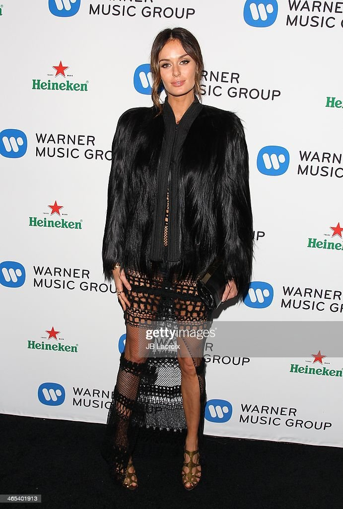<a gi-track='captionPersonalityLinkClicked' href=/galleries/search?phrase=Nicole+Trunfio&family=editorial&specificpeople=3006654 ng-click='$event.stopPropagation()'>Nicole Trunfio</a> attends the Warner Music Group Hosts Annual Grammy Celebration held at Sunset Tower on January 26, 2014 in West Hollywood, California.