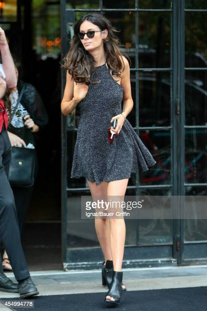 Nicole Trunfio is seen in New York City on September 08 2014 in New York City