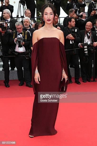 Nicole Warne attends the 'Slack Bay ' premiere during the 69th annual Cannes Film Festival at the Palais des Festivals on May 13 2016 in Cannes France