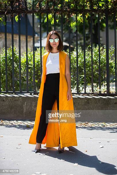 Nicole Warne in Dior on July 6 2015 in Paris France