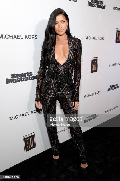 Nicole Williams at Sports Illustrated 2017 Fashionable 50 Celebration at Avenue on July 18 2017 in Los Angeles California