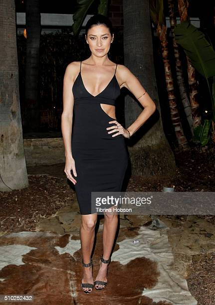 Nicole Williams attends dFm's Grammy Celebration at Hollywood Roosevelt Hotel on February 13 2016 in Hollywood California