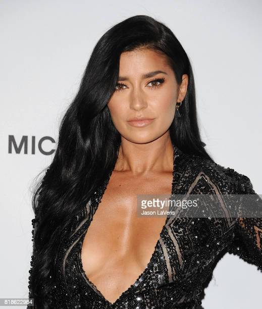 Nicole Williams attends the Sports Illustrated Fashionable 50 event at Avenue on July 18 2017 in Los Angeles California