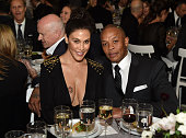 Nicole Young and Dr Dre attend WSJ Magazine 2014 Innovator Awards at Museum of Modern Art on November 5 2014 in New York City