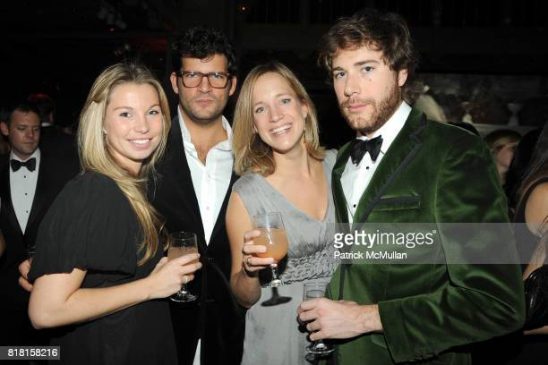 Nicolene Perkins Anthony Martinetti Ilene and Hud Morgan attend The 2010 YOUNG LIONS PARTY at The New York Public Library on November 1 2010 in New...