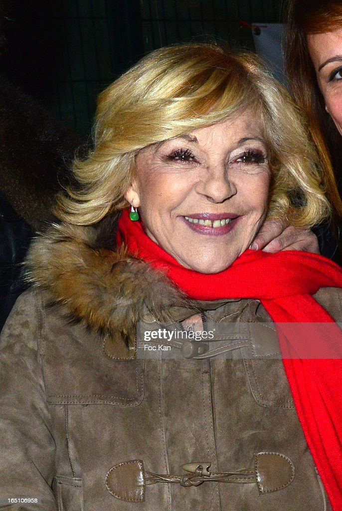 Nicoletta attends 'Les Toiles Enchantees' Children Care Association Auction Dinner During The 50th Foire du Trone at Pelouse de Reuilly on March 29, 2013 in Paris, France.