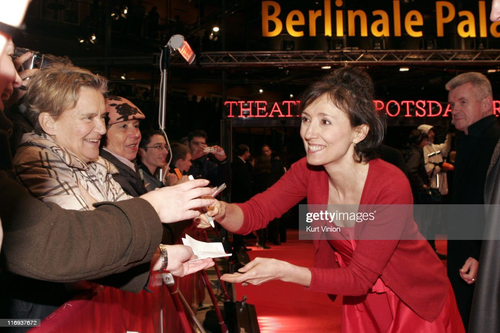 Nicoletta Braschi during 56th Berlinale International Film Festival - 'The Tiger and the Snow' - Premiere at Potsdamer Platz in Berlin, Germany.