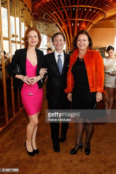 Nicoletta Giordani Bruce Levingston and Barbara HemmerleGollust attend Bruce Levingston on Top of The Standard A Premiere Commission Gala at Boom...